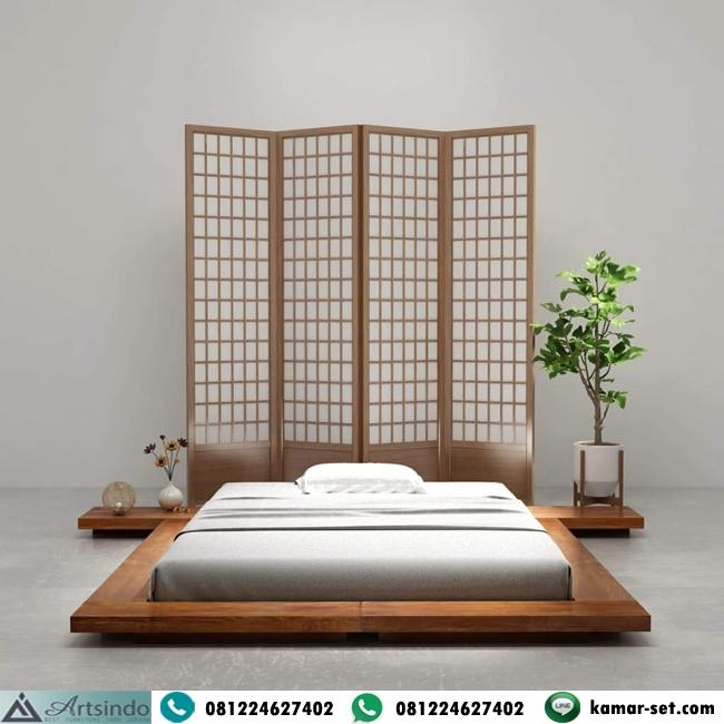 Model Tempat Tidur Jepang Low Bed