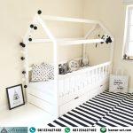 Ranjang Anak Berlaci Model Bedhouse