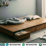 Ranjang Tatami Bed Laci Kayu Jati
