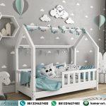 Tempat Tidur Anak Balita Bedhouse Berpagar