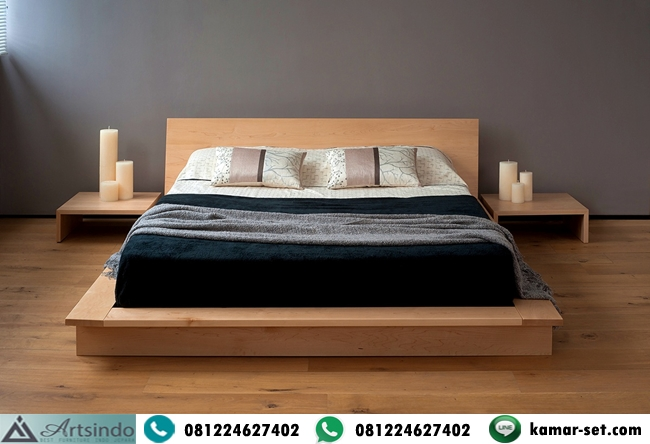 Tempat Tidur Kayu Minimalis Jepara