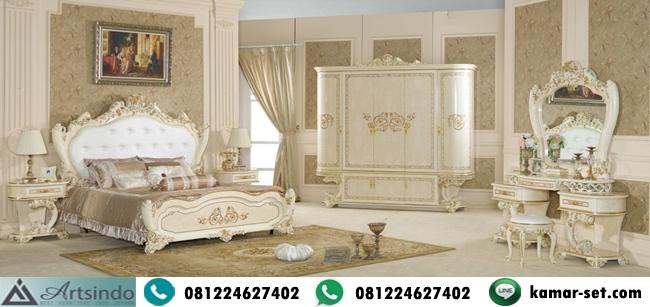 Set Kamar Tidur Mewah Lengkap Turkish Style