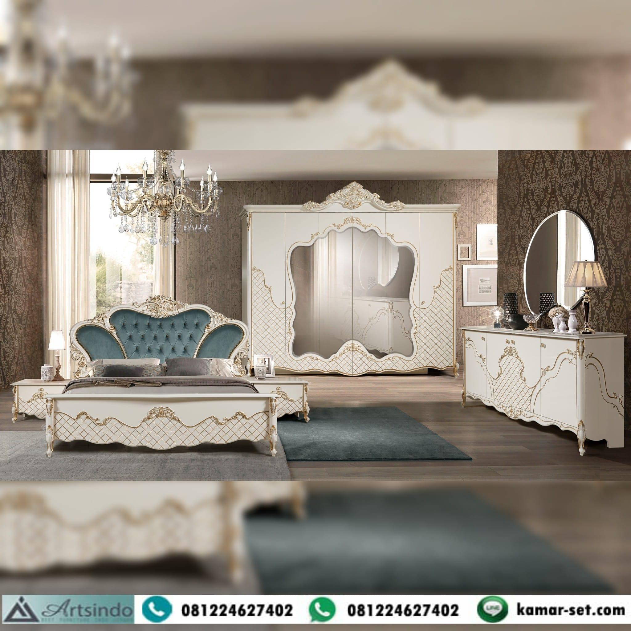 Set Tempat Tidur Klasik Lengkap Turkey Style Nirmala