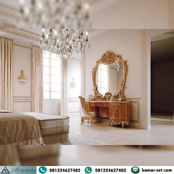 Meja Rias Mewah Casa Rampoldi Klasik